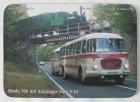 """Mousepad bedruckt - Oldtimer-Bus """"Skoda 706"""""""