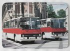 "Mousepad bedruckt - Oldtimer-Bus ""Ikarus 255"""