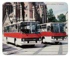"""Schneidunterlage bedruckt - Oldtimer-Bus """"Ikarus 255"""""""