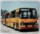 """Schneidunterlage bedruckt - Oldtimer-Bus """"Ikarus 280"""""""