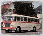 """Schneidunterlage bedruckt - Oldtimer-Bus """"Ikarus 630"""""""