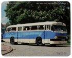 """Schneidunterlage bedruckt - Oldtimer-Bus """"Ikarus 66"""""""
