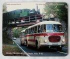 """Schneidunterlage bedruckt - Oldtimer-Bus """"Skoda 706"""""""
