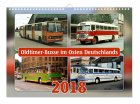 """Kalender """"Oldtimer-Busse im Osten Deutschlands 2018"""""""