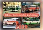 """Kalender """"Oldtimer-Busse im Osten Deutschlands 2019"""""""