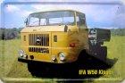 Blechschild - IFA W 50 DDR LKW Laster