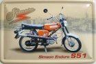 Blechschild - Simson Enduro S51