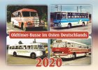"""Kalender """"Oldtimer-Busse im Osten Deutschlands 2020"""""""