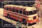 "Busblechschild Bus ""Ikarus 602 - Aufbau Hiller"""