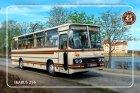 """Busblechschild Bus """"Ikarus 256"""""""