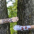 Erzgebirgische Handsocken Hase und Igel