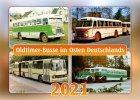"""Kalender """"Oldtimer-Busse im Osten Deutschlands 2021"""""""
